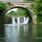 金山橋と板井出の滝